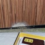 HPL deur repareren voor